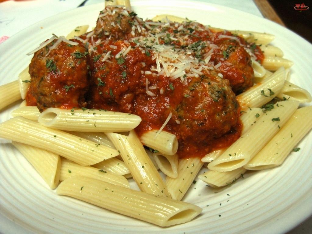 Klopsy, Spaghetti