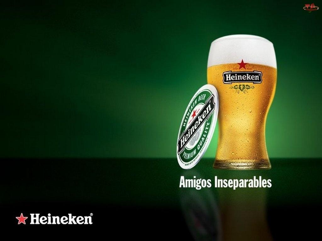 pokal, Piwo, Heineken