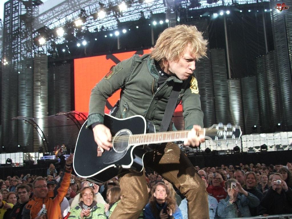 gitara, Bon Jovi, fani