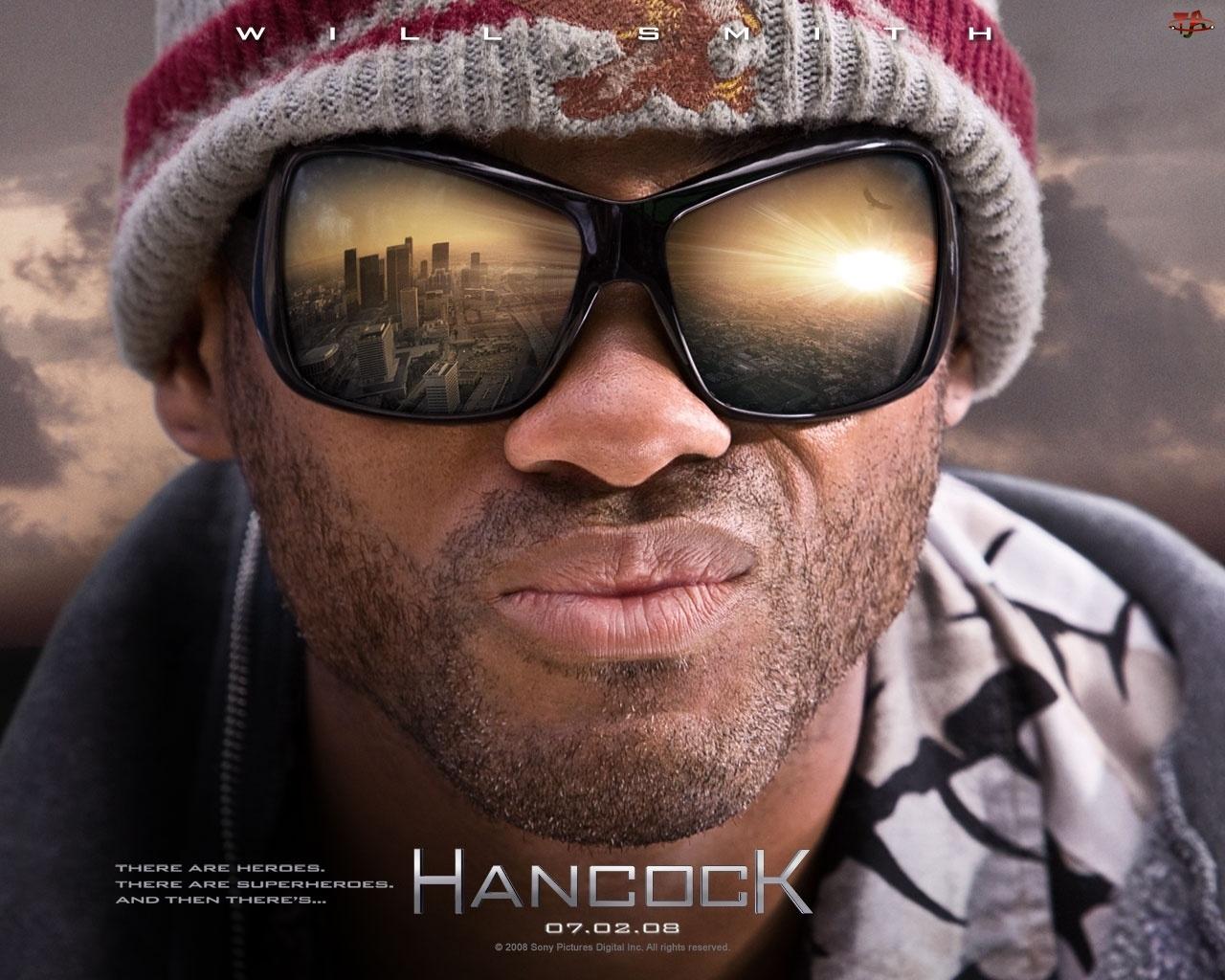 Will Smith, Hancock, okulary