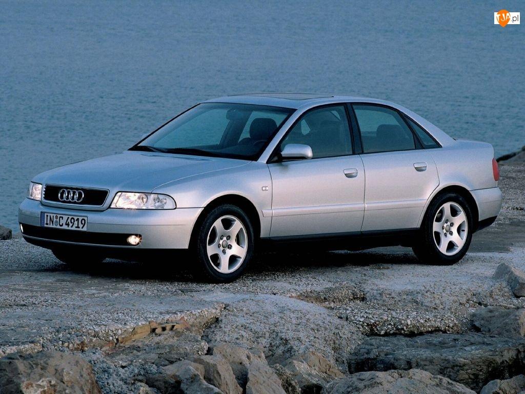 Audi A4, Srebrny, Metalik