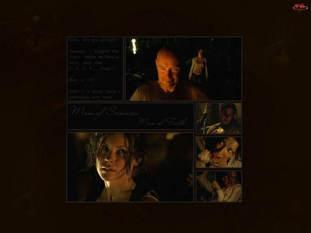 Filmy Lost, Evangeline Lilly, zdjęcia, ciemno