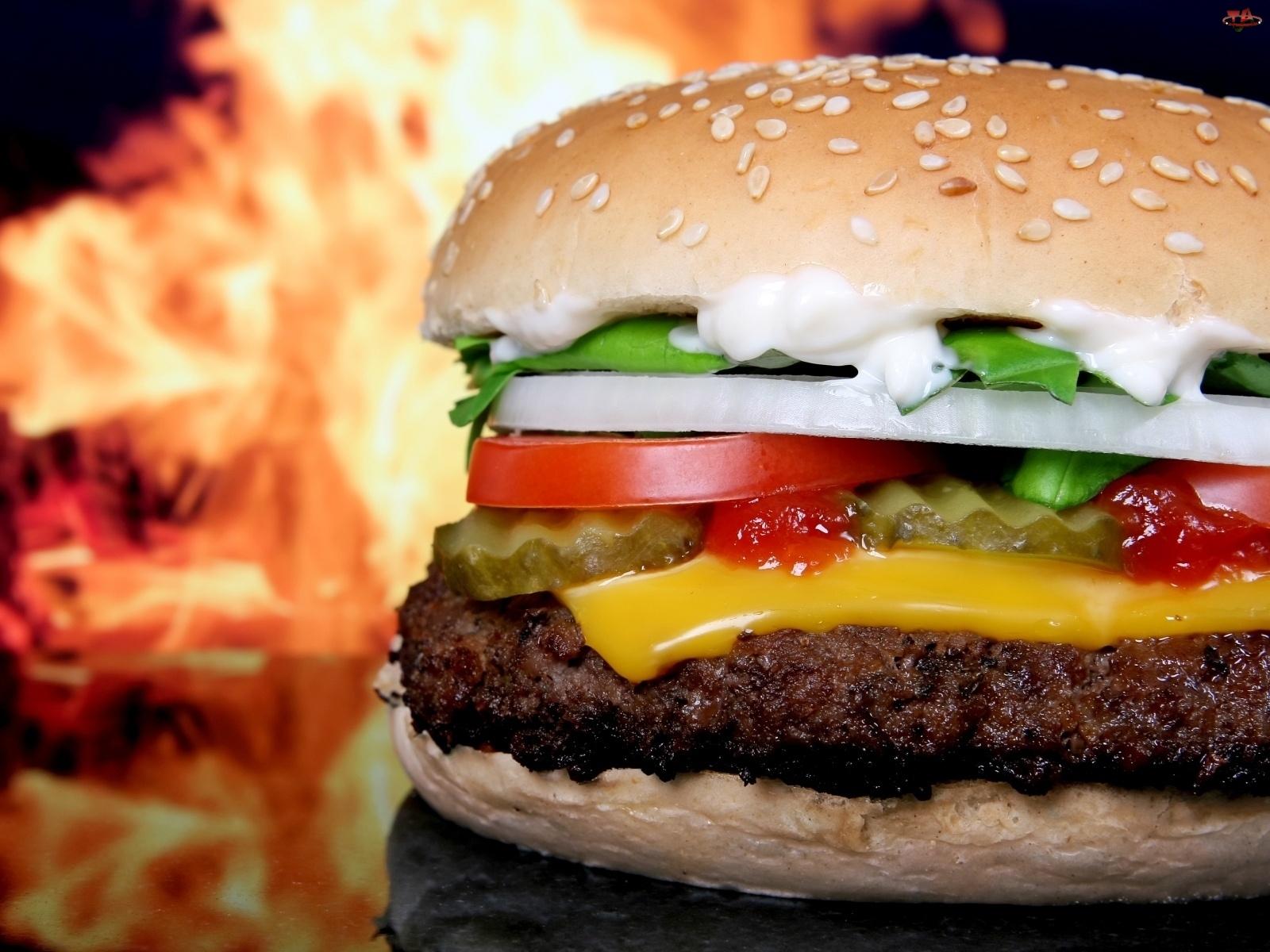 Dodatki, Smakowity, Hamburger