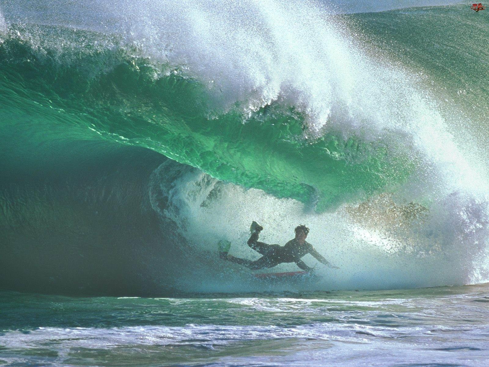 fala, Windsurfing, deskamorze