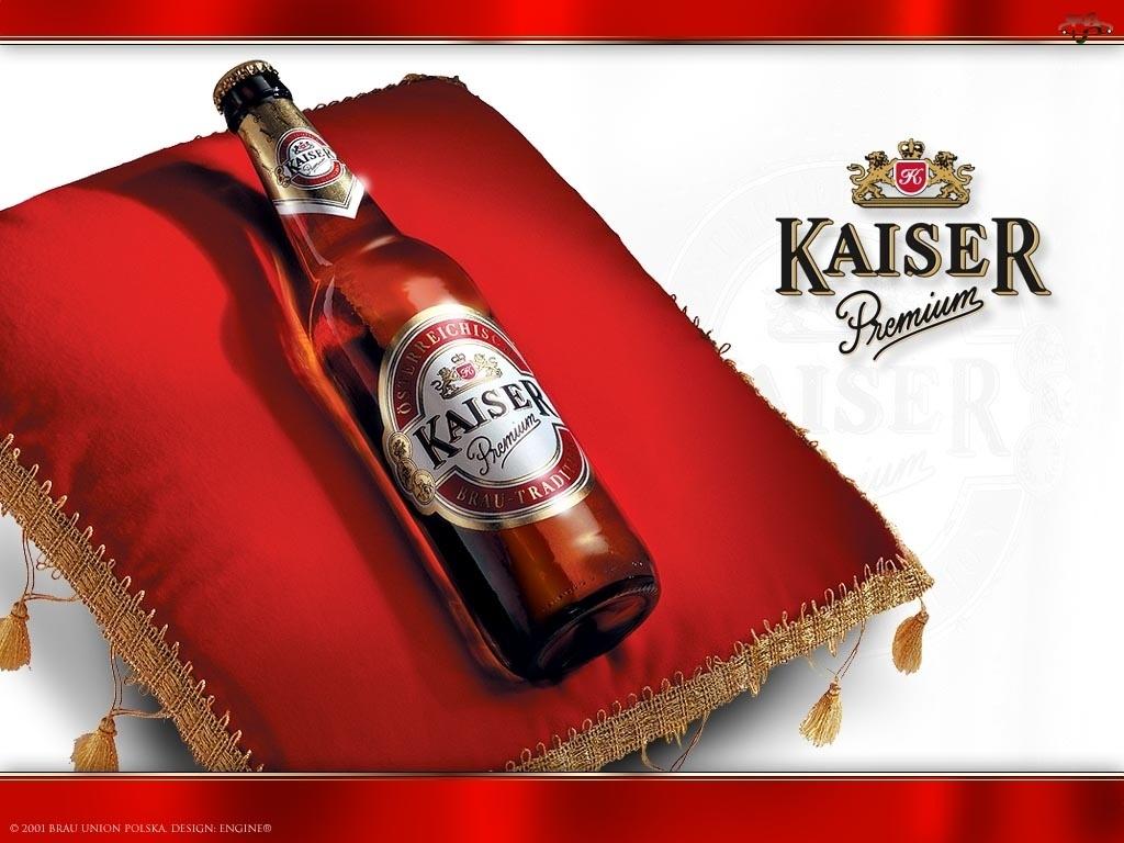butelka, Piwo Kaiser, Poduszka