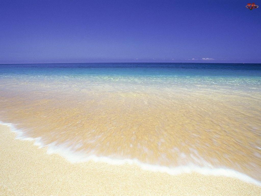 Fala, Plaża, Morze