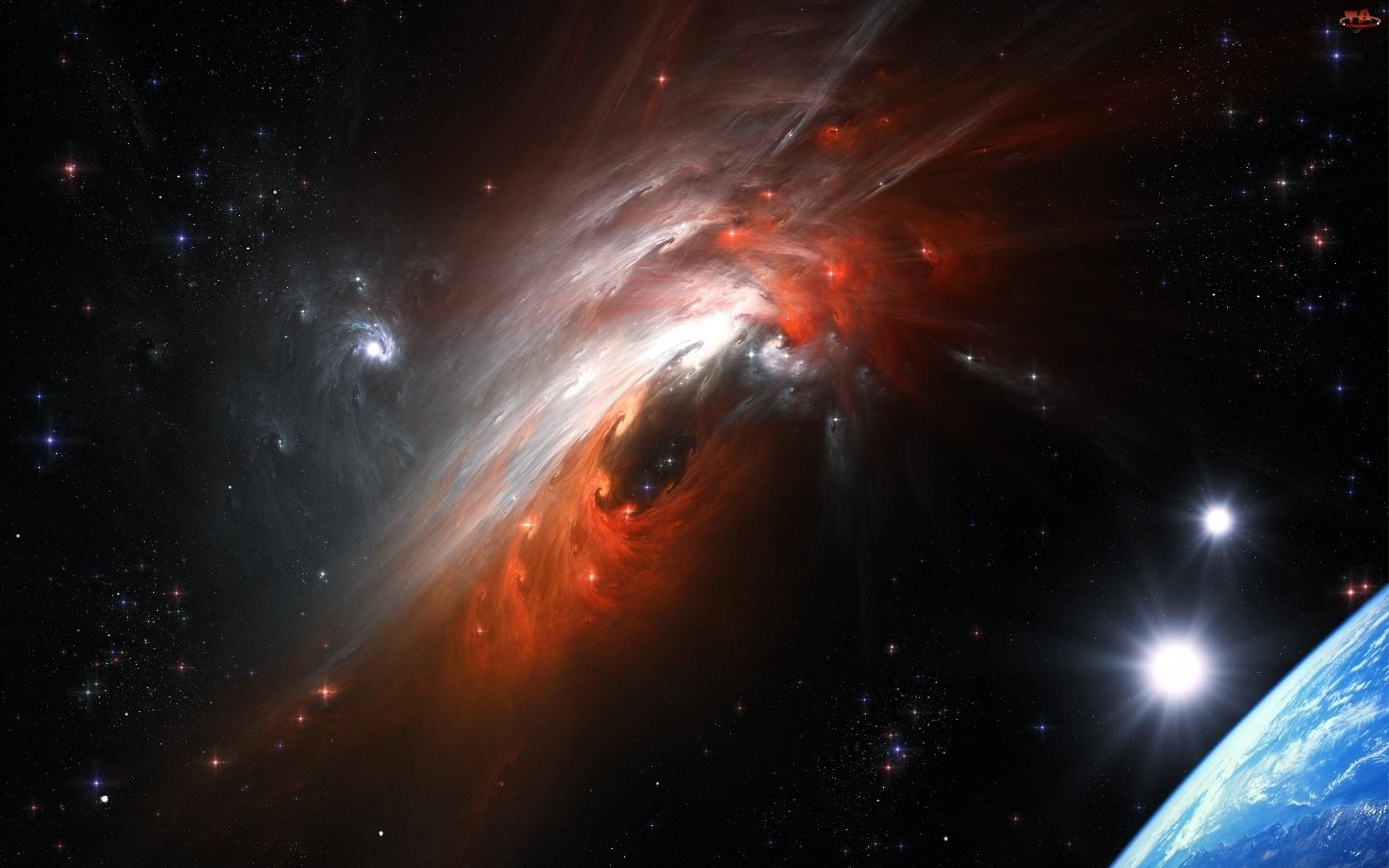 Otchłań, Kosmosu