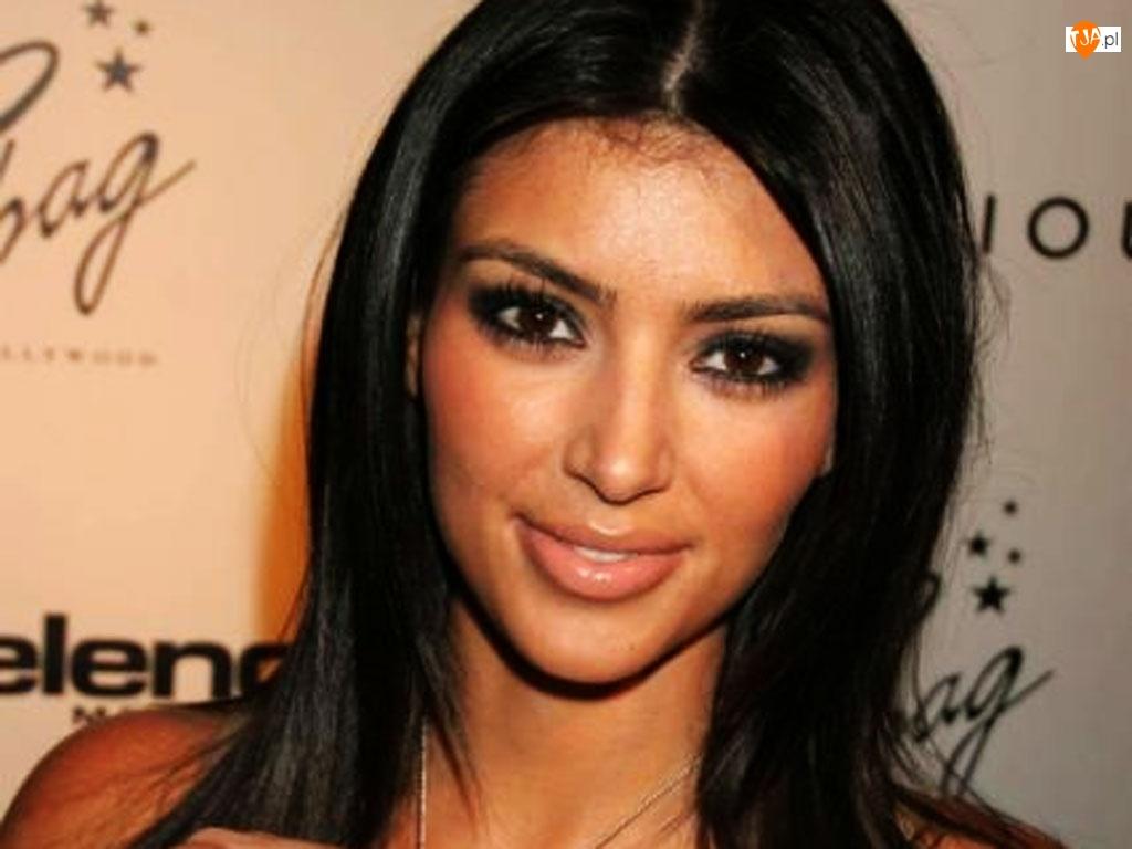 twarz, Kim Kardashian, Kobieta