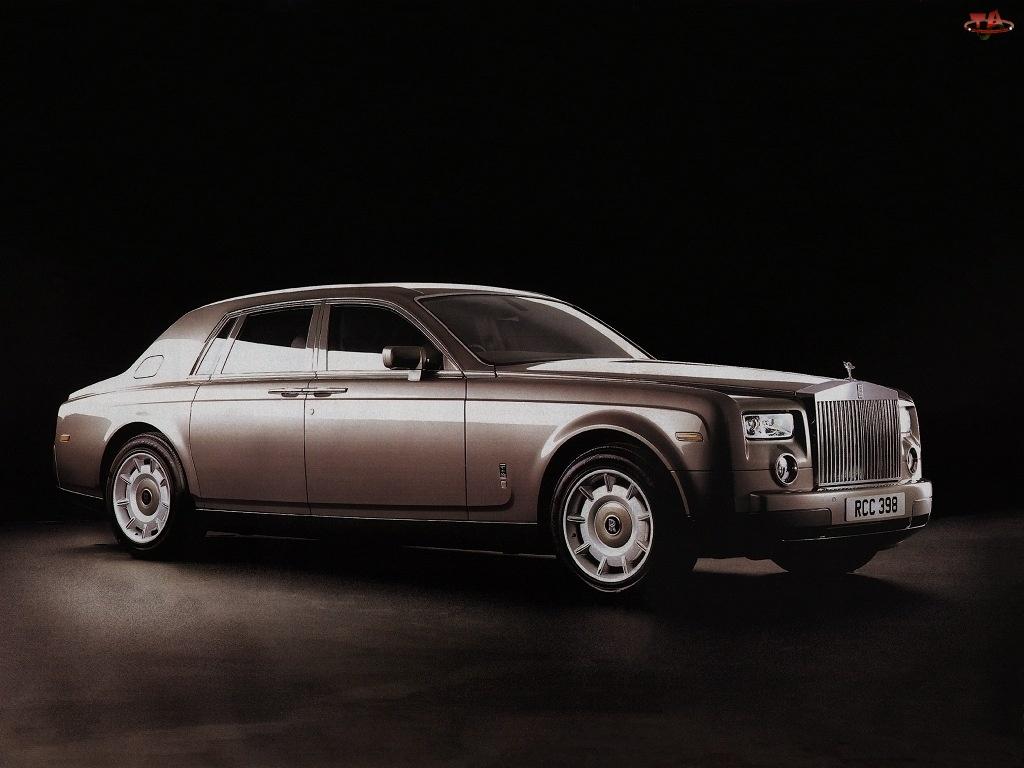 Parkowania, Rolls-Royce Phantom, Czujniki