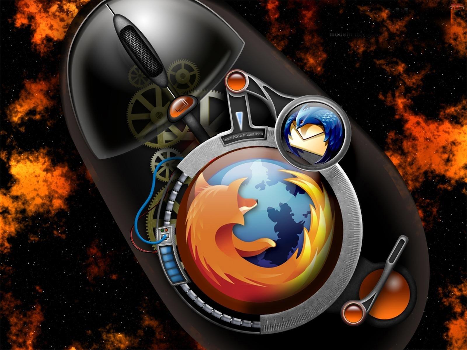 Mozilla Firefox, Myszka