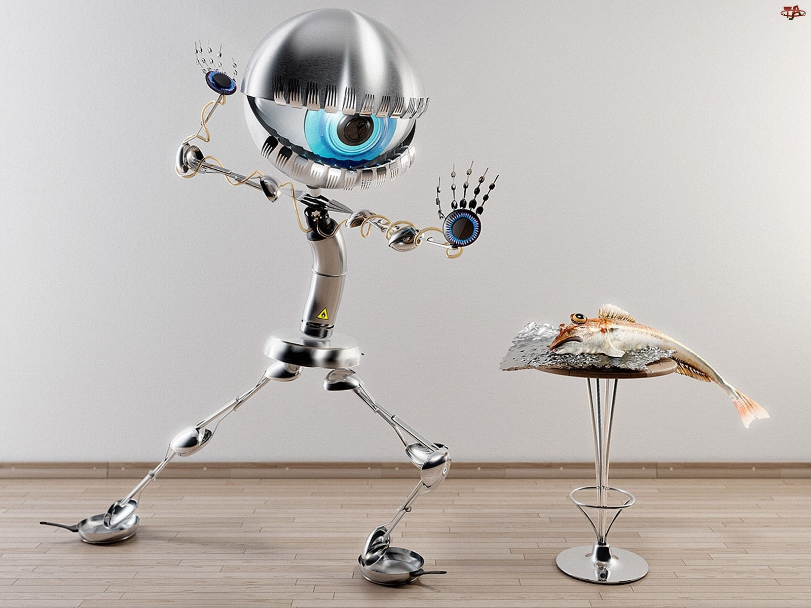 Oko, Robot, Ryba