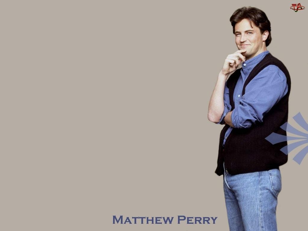 Mathew Perry, czarna kamizela