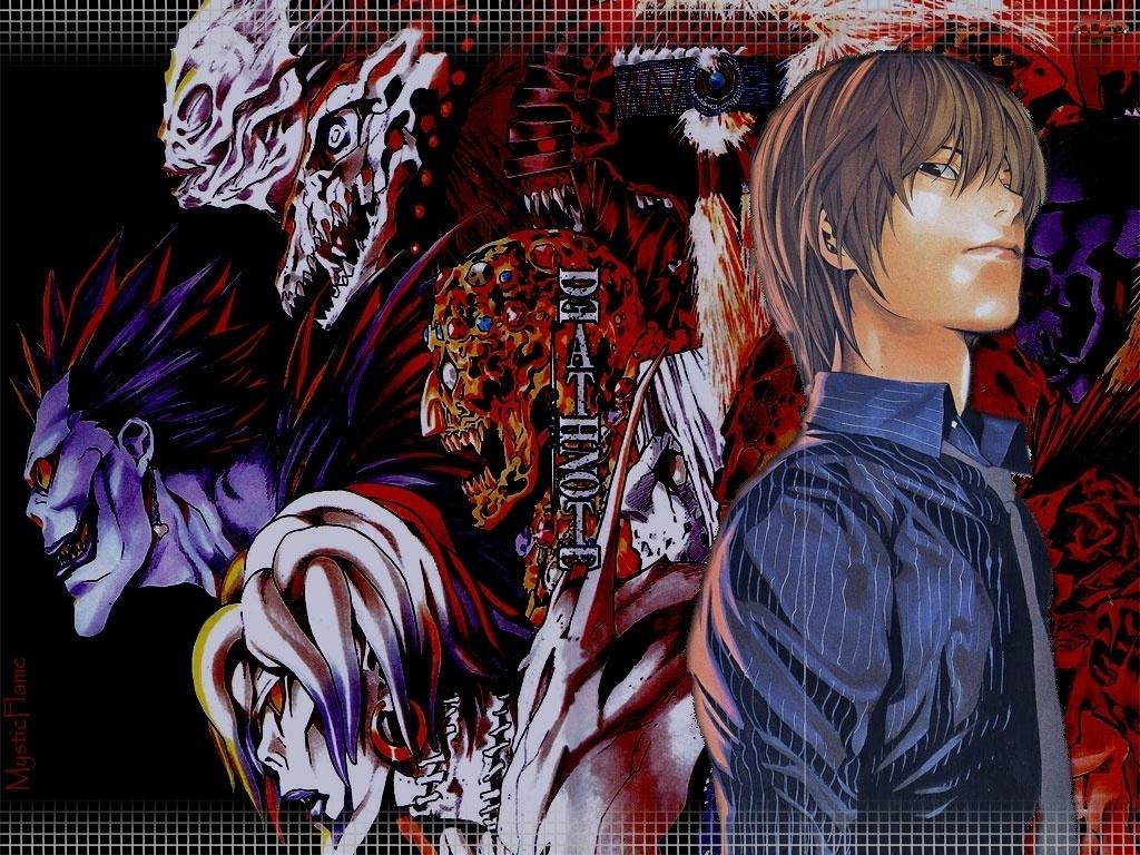 Death Note, koszula, potwory, chłopak