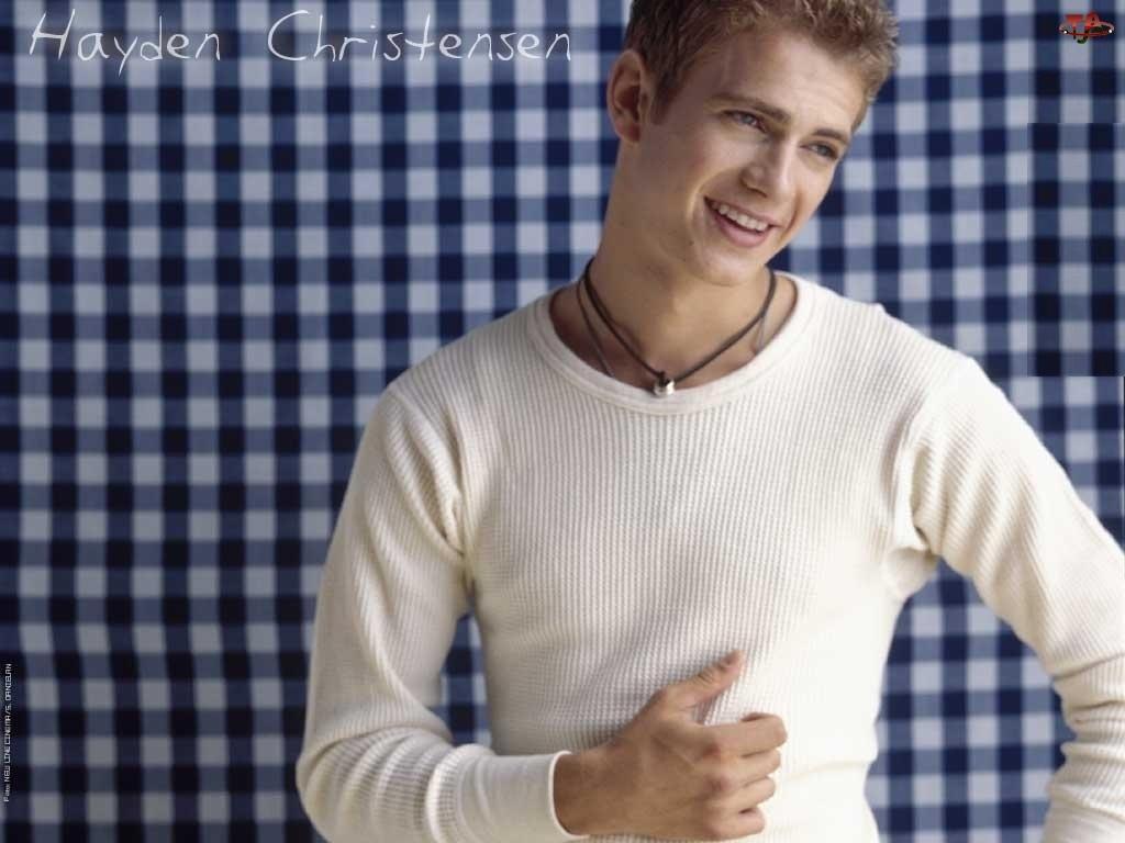 kratka, Hayden Christensen, biała koszulka