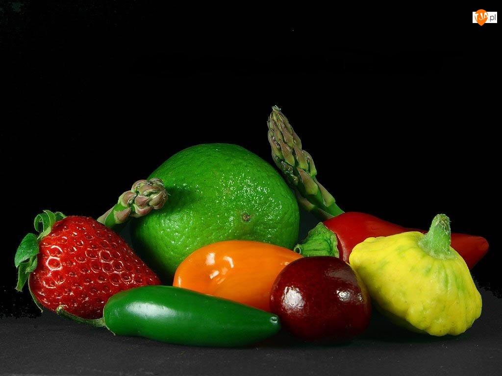 Warzywa, Różne, Owoce