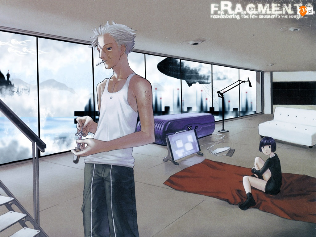 Ugetsu Hakua, papieros, pokój, postacie
