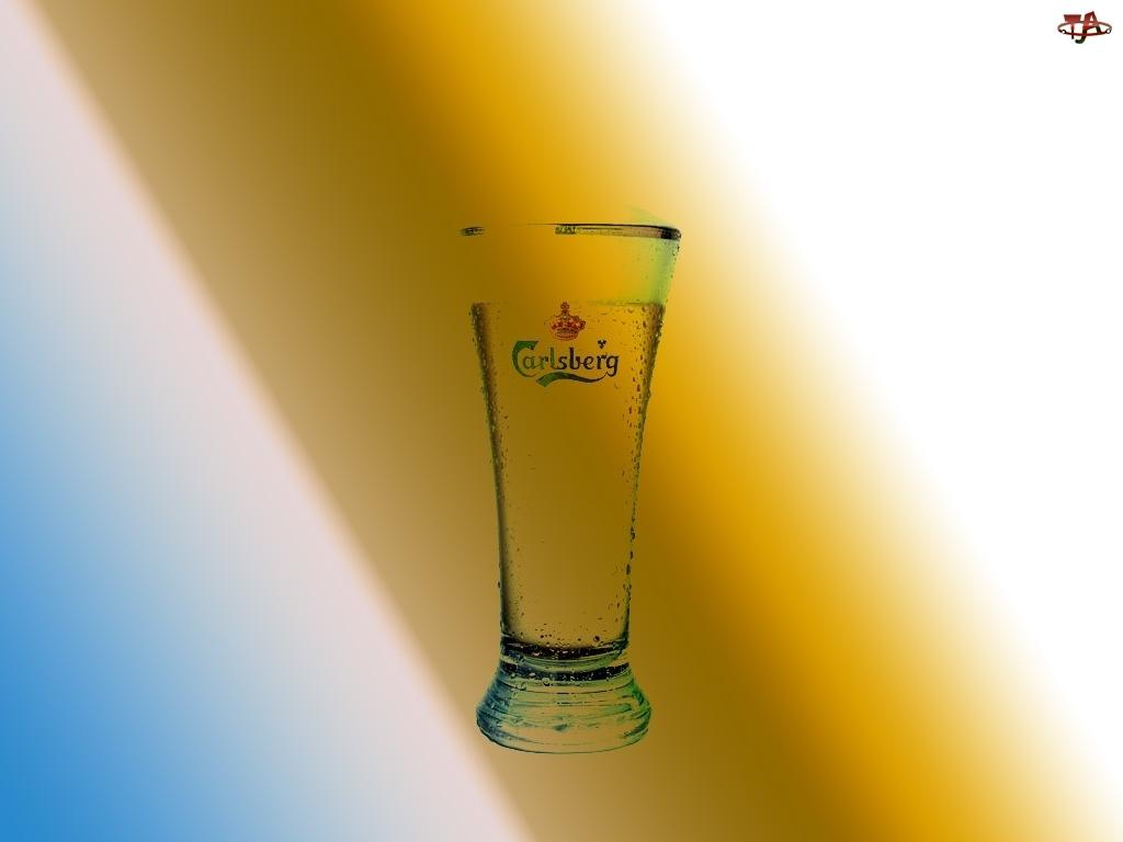 Kufel, Calsberg, Piwo, Logo