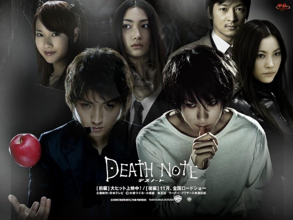 Death Note, jabłko, aktorzy, chińczycy