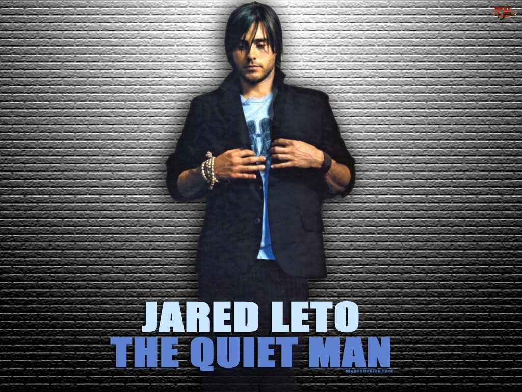 Jared Leto, czarny strój