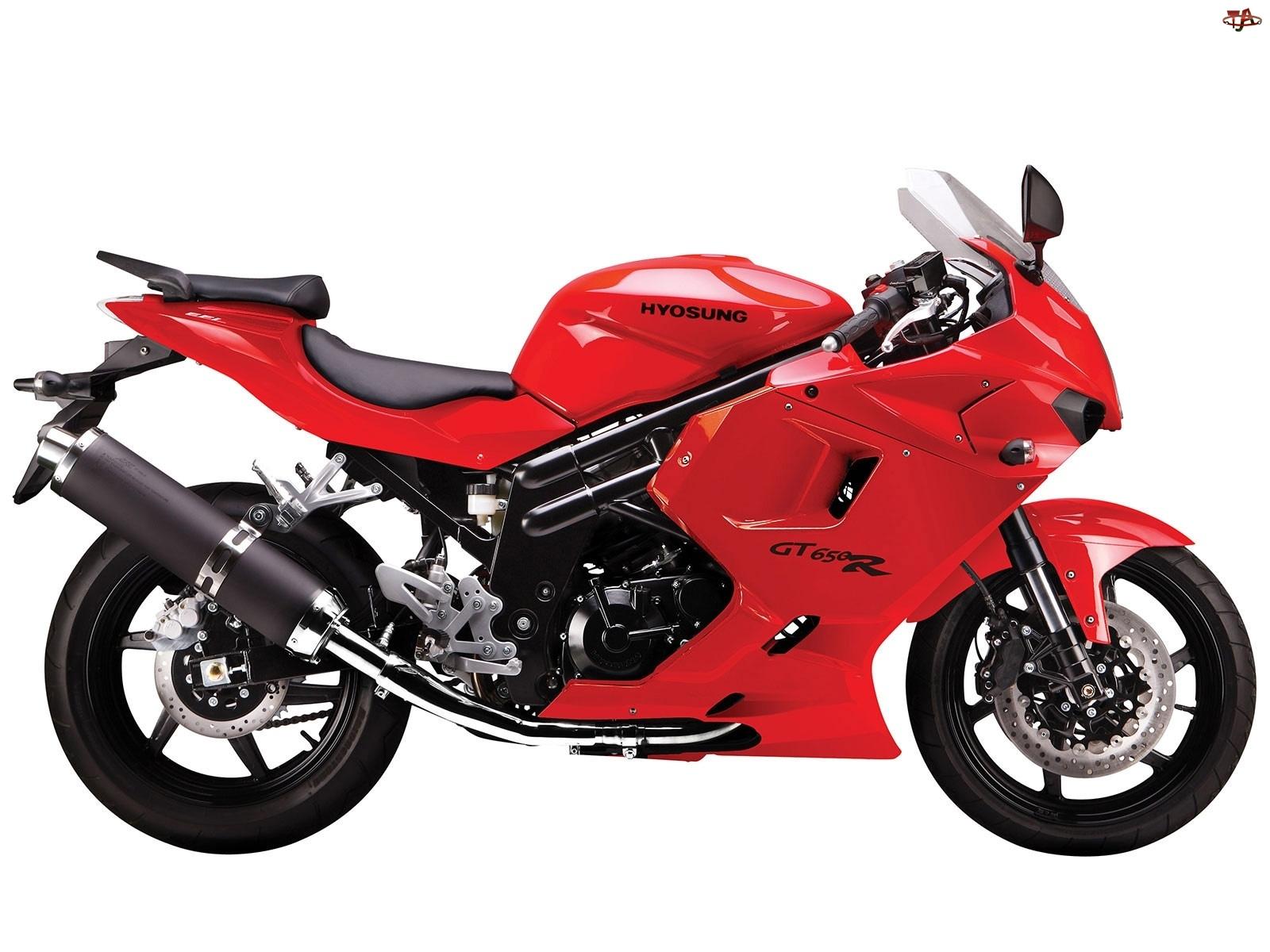 Owiewki, Czerwony, Hyosung GT650R EFI
