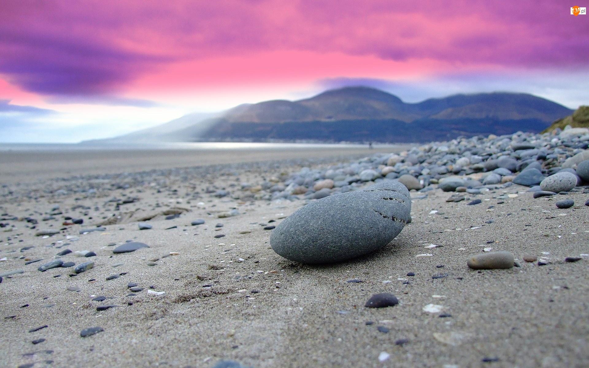 Plaża, Piasek, Kamienie