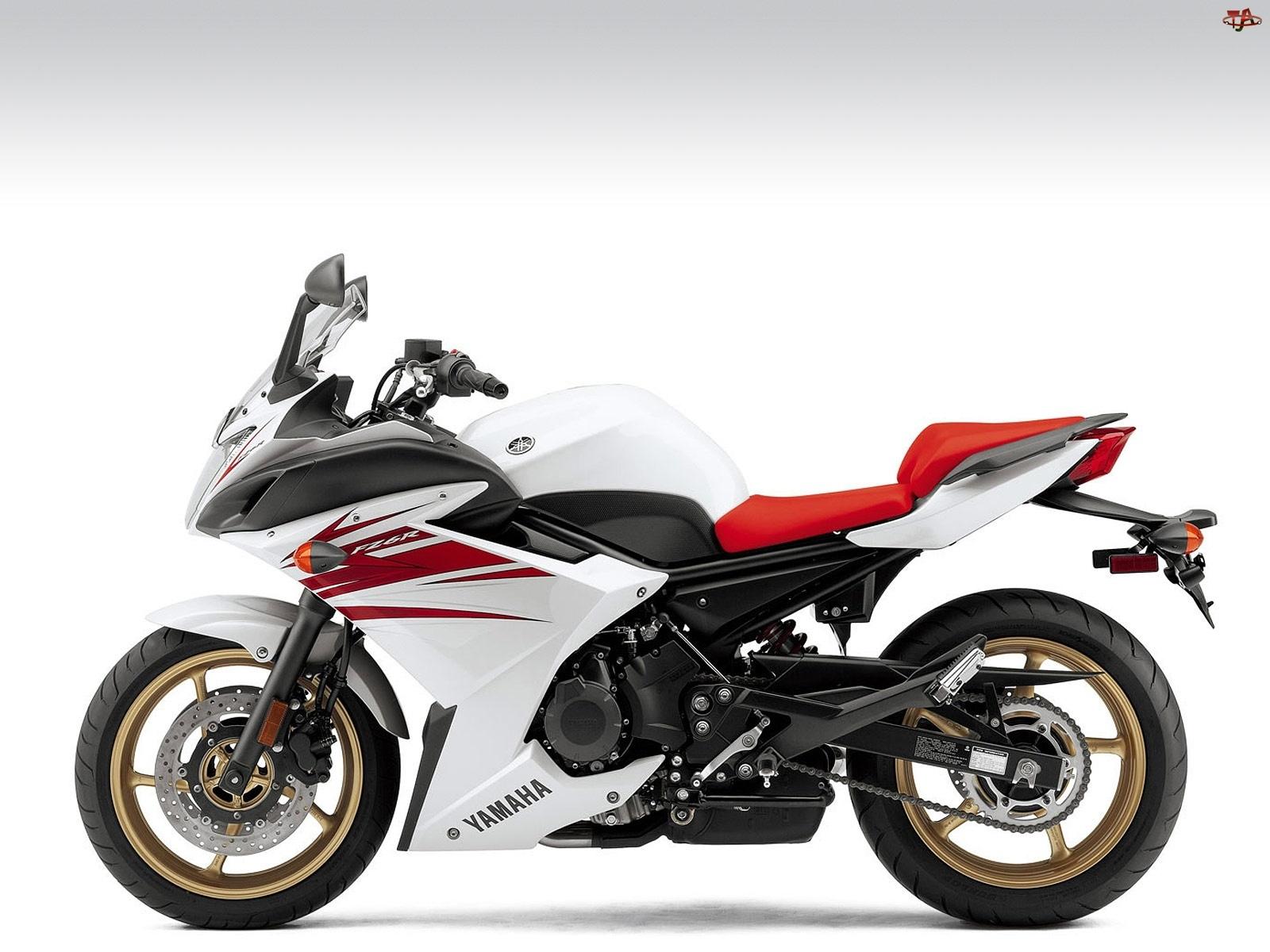 Siedzenie, Yamaha FZ6R, Czerwone
