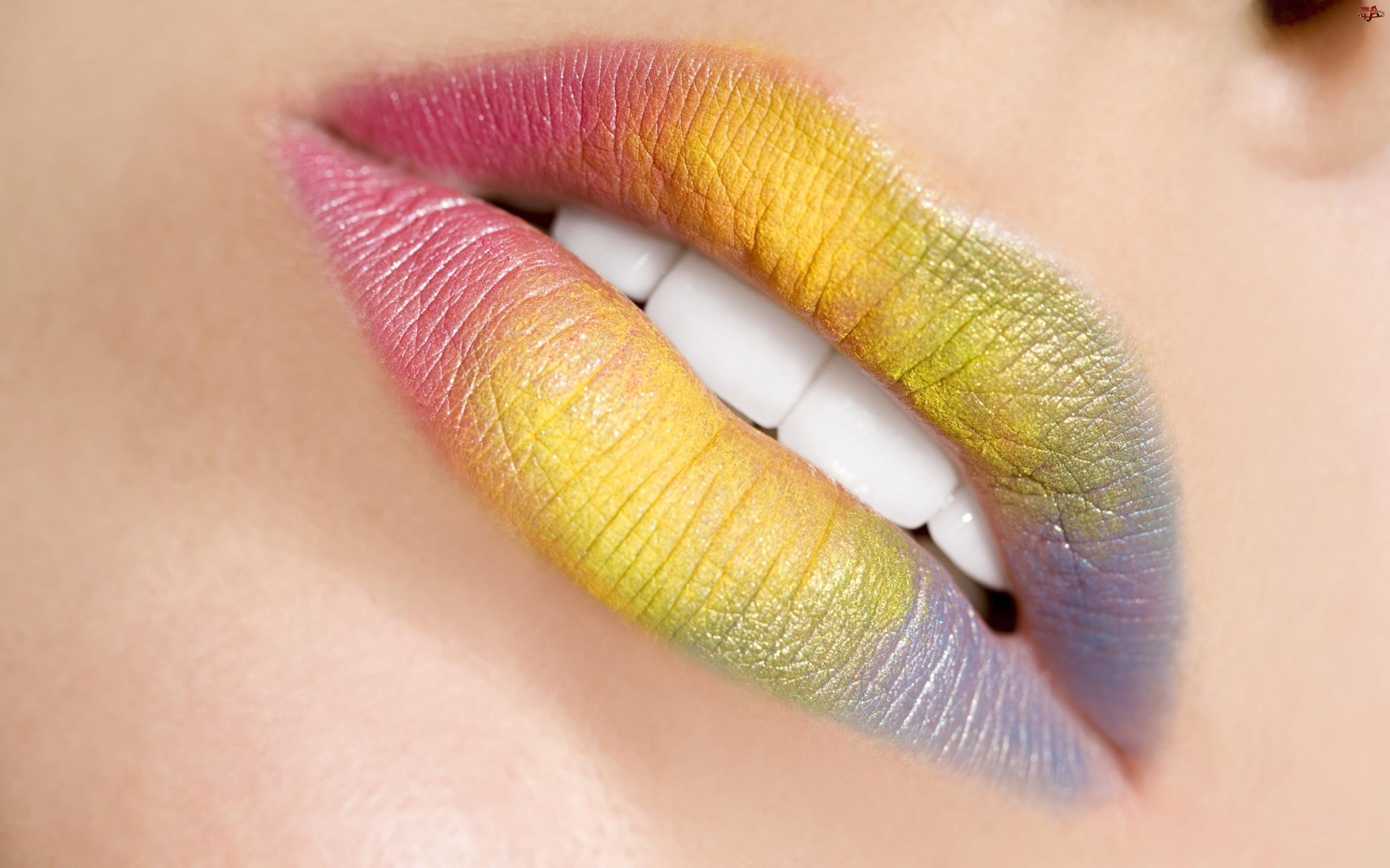 Kolorowe, Usta