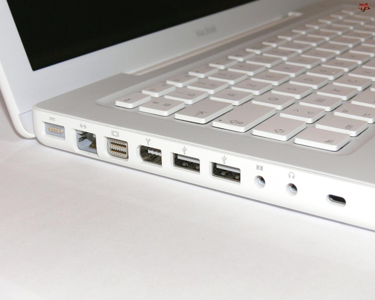 Laptop, USB, Apple, Wejścia
