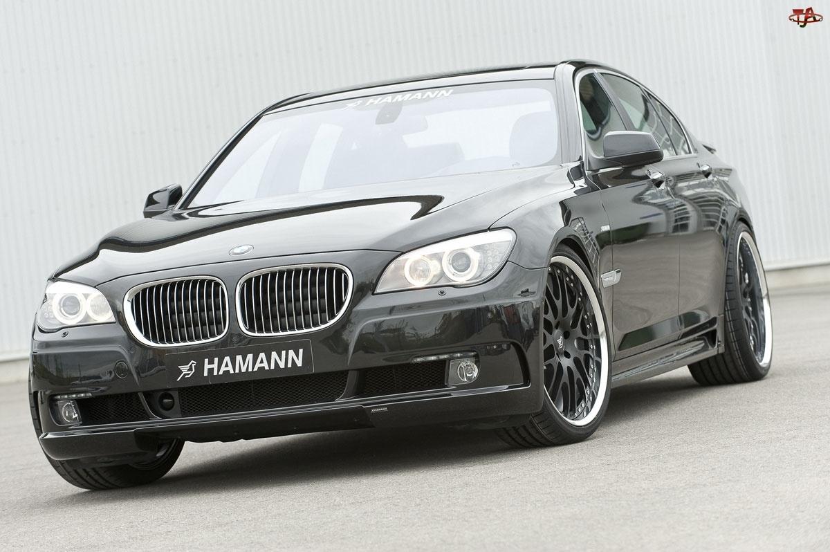 Felgi, Hamann, F01, BMW, Czarne
