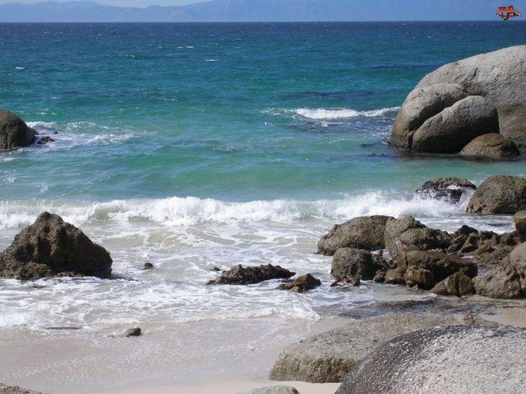Kamienie, Morze, Fale