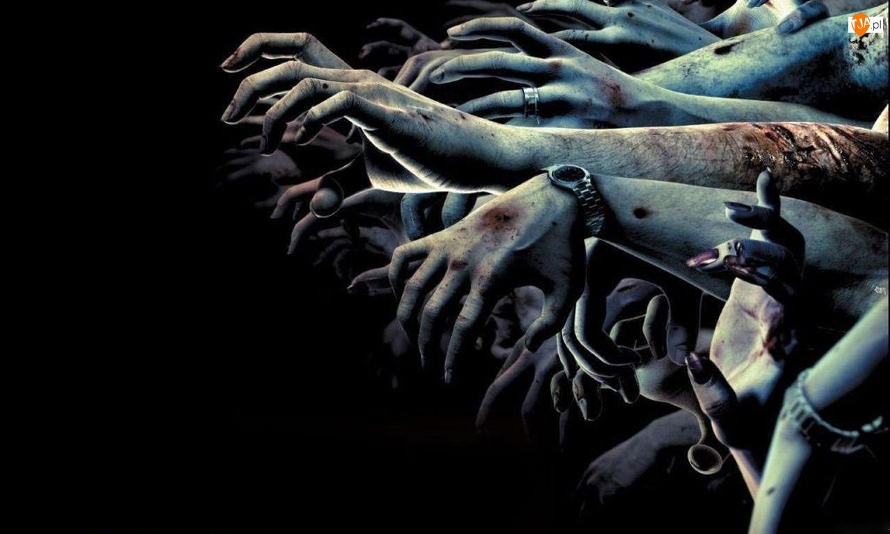 Resident Evil, Ręce, Zombie