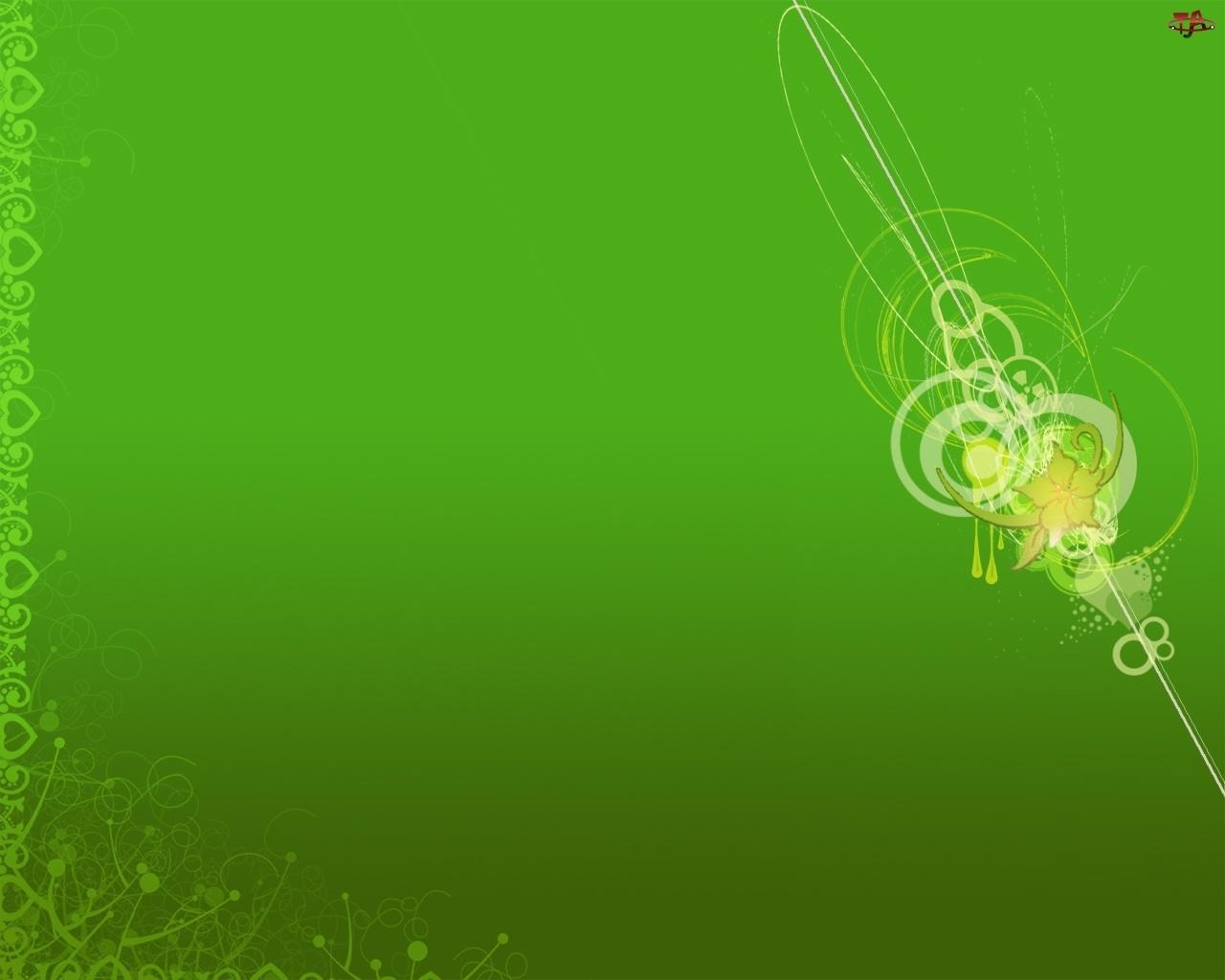 Tło, Wzory, Zielone