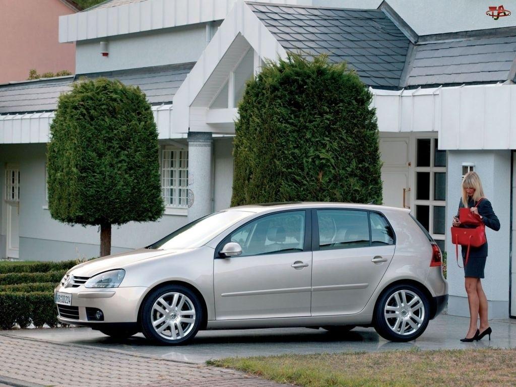 Volkswagen Golf 5, kobieta