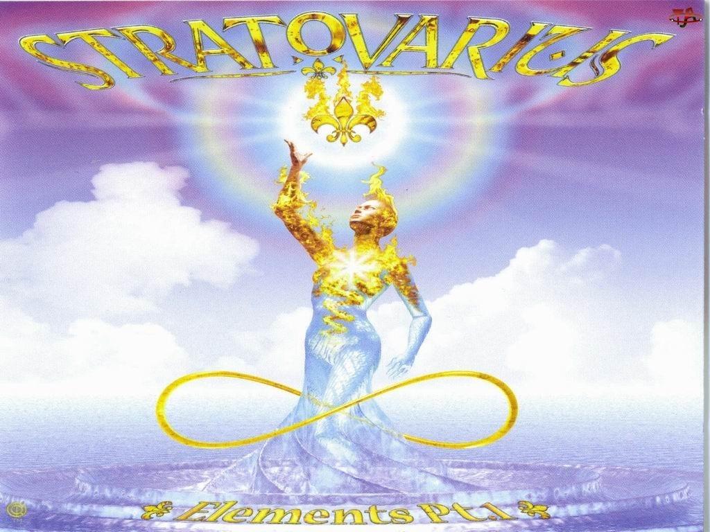 Stratovarius, światło, posąg, niebo