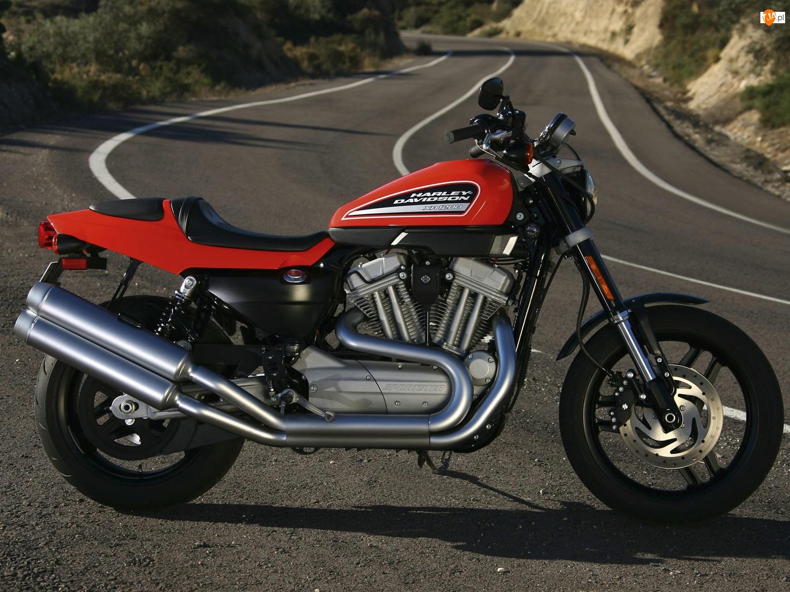Czerwony, Lagi, Bak, Harley Davidson XR1200
