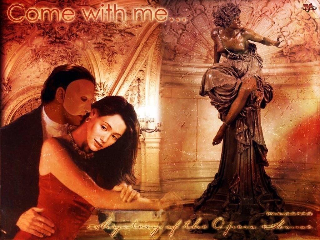 Phantom Of The Opera, figurka, Emmy Rossum, Gerard Butler