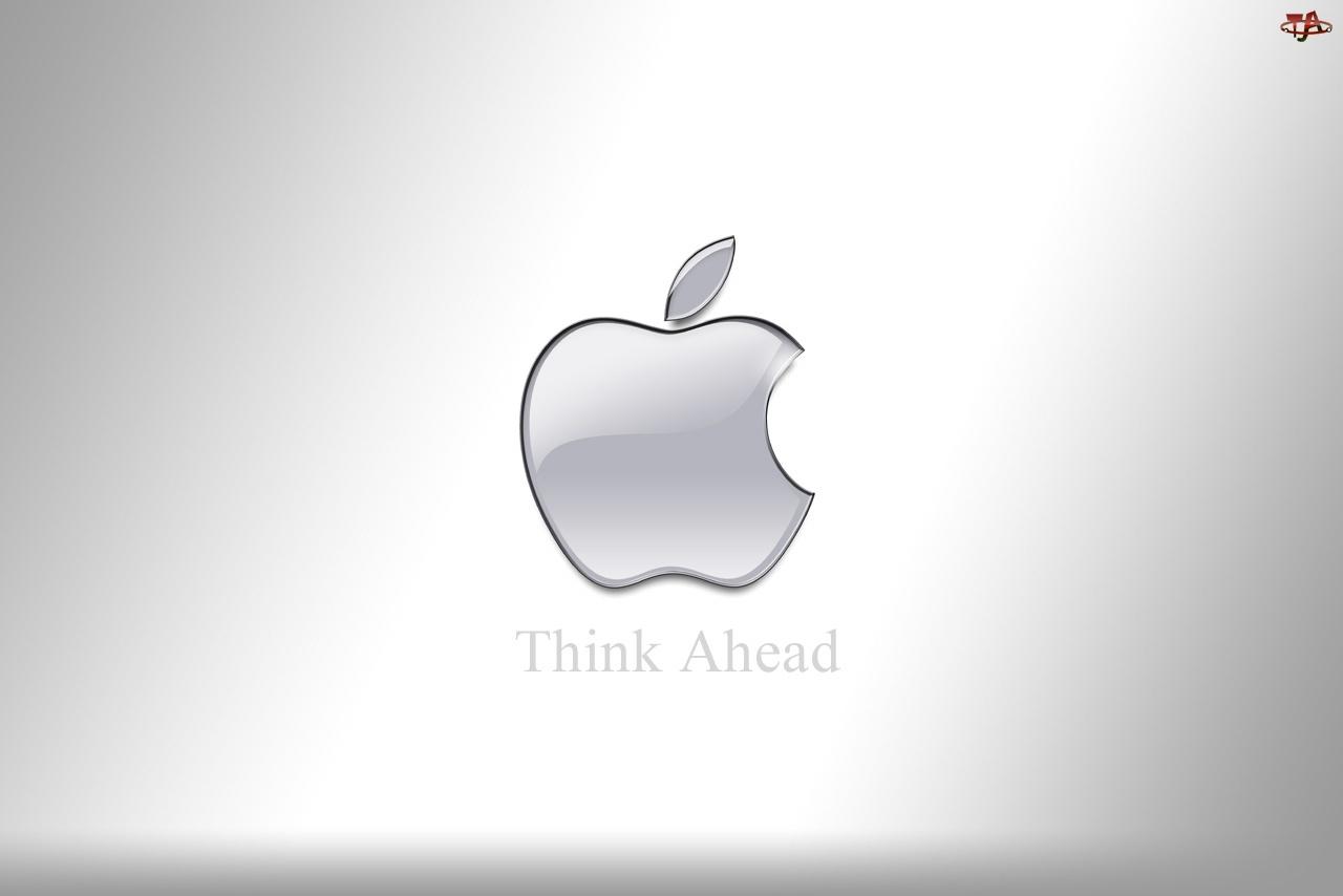 Apple, Srebrne, Logo