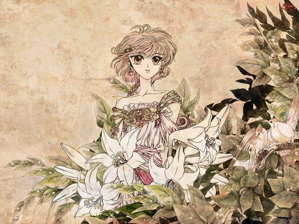 Kwiaty, Hikaru, Suknia