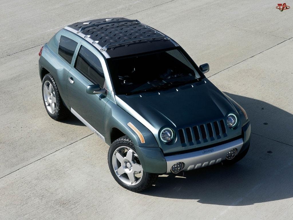 Zielony, Jeep Liberty