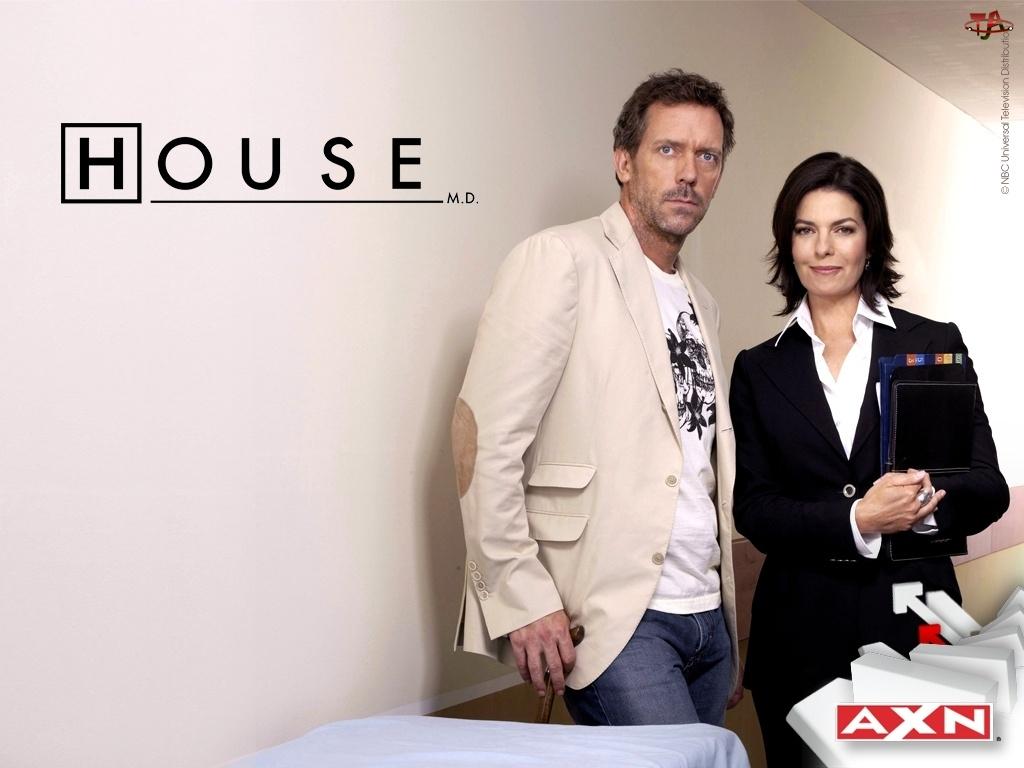 AXN, Dr. House, Hugh Lauriego