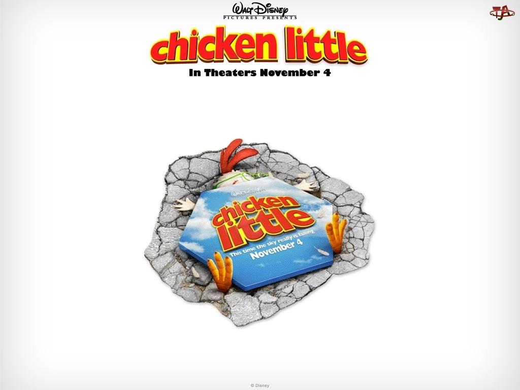 przygnieciony, Kurczak Mały, Chicken little
