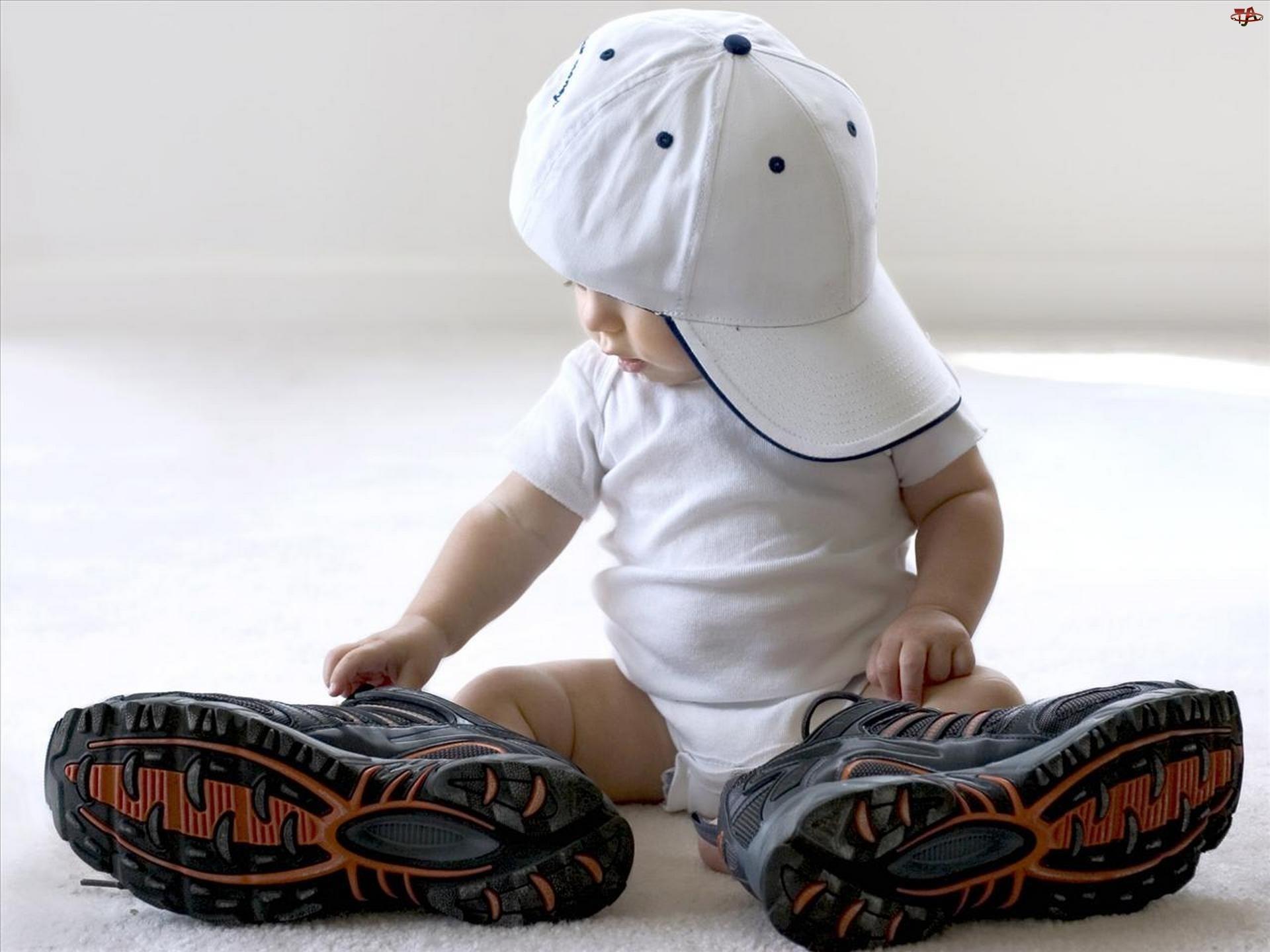 Czapka, Dziecko, Adidasy