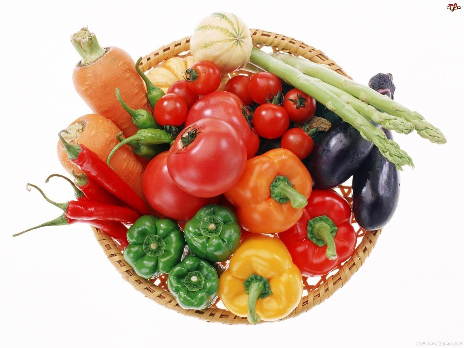 Koszyk, Warzywa