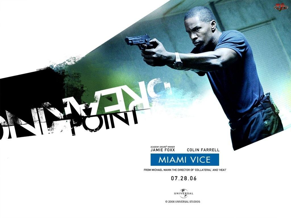 detektyw, broń, Miami Vice, Jamie Foxx