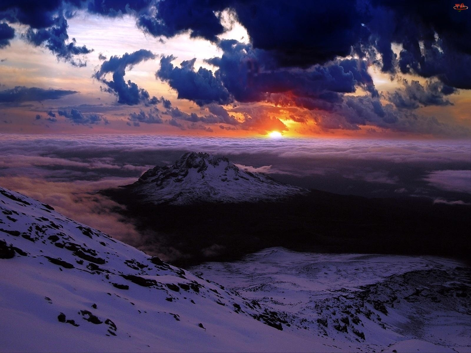 Chmury, Szczyty, Górskie