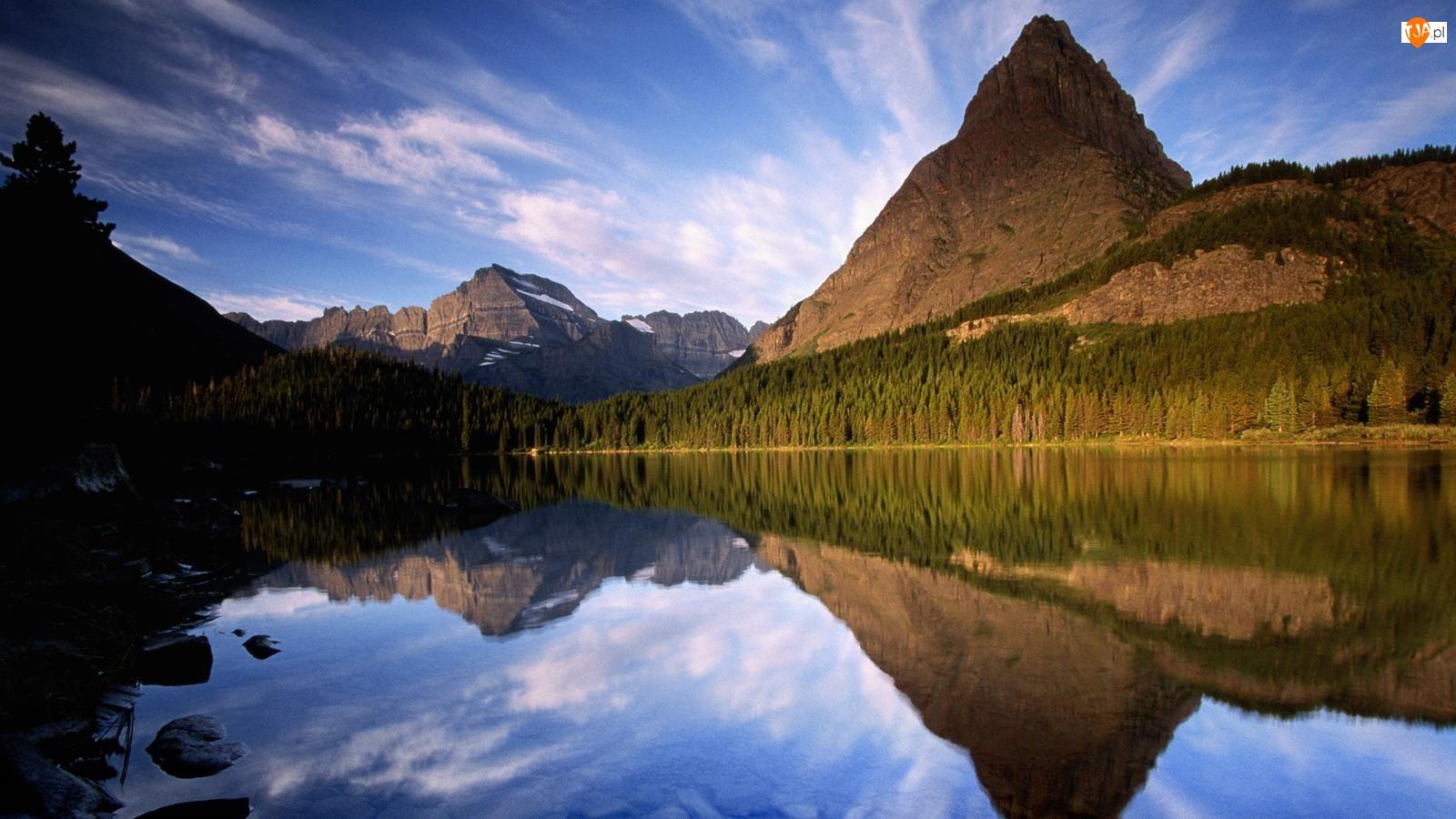 Jezioro, Gór, Lustrzane, Odbicie