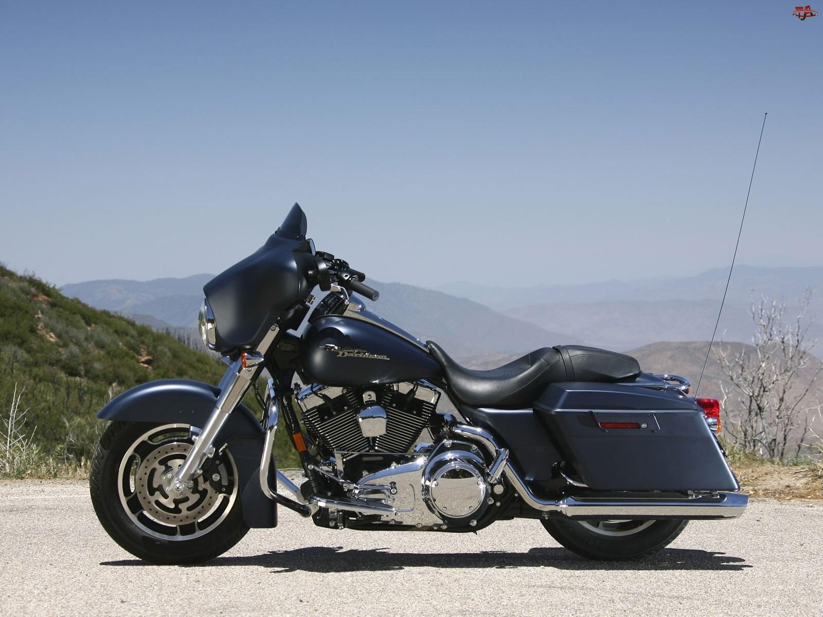 Chromowane, Harley-Davidson Touring Street Glide, Elementy