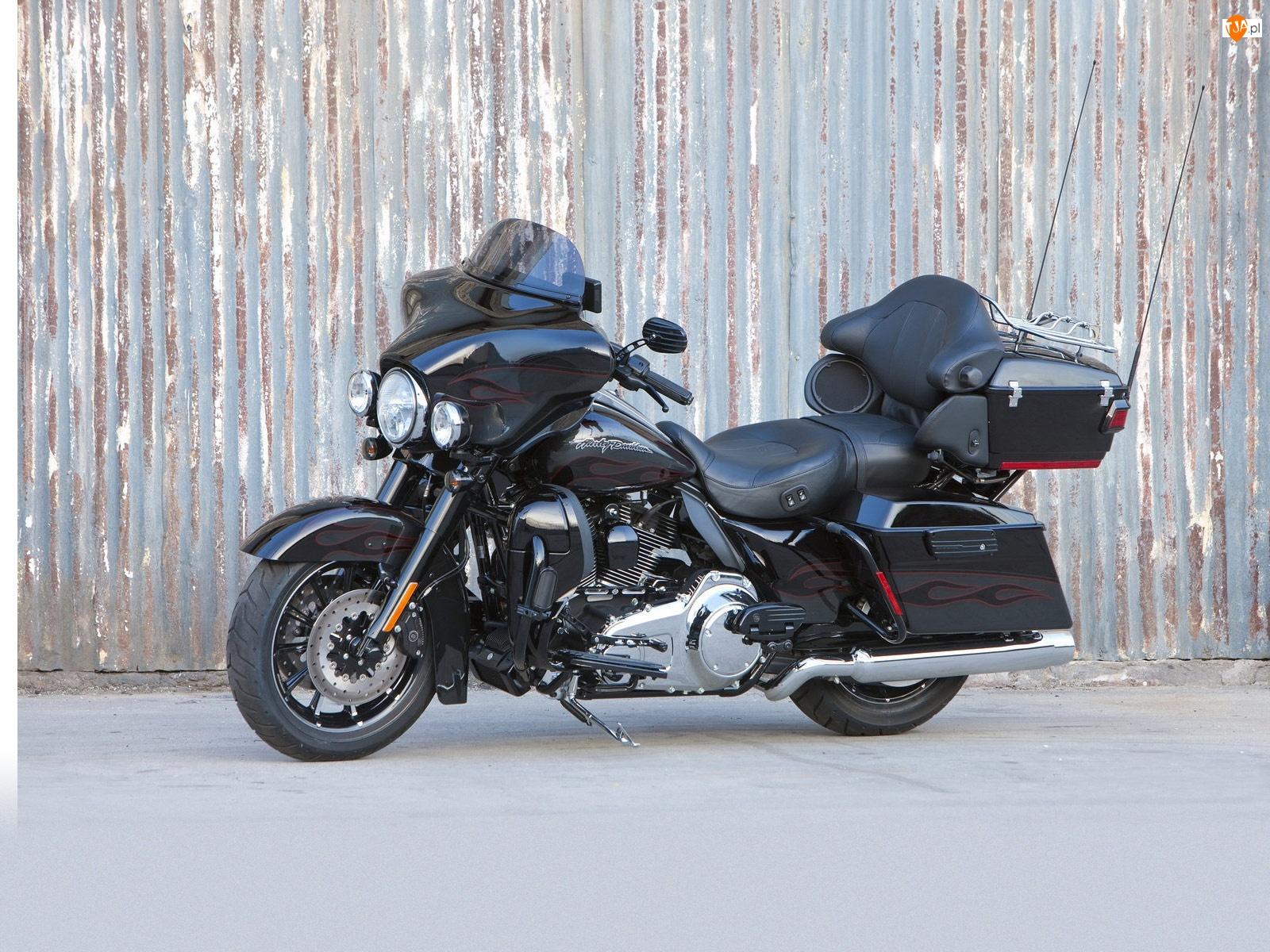 Pasażera, Harley Davidson Ultra Classic Electra Glide, Fotel