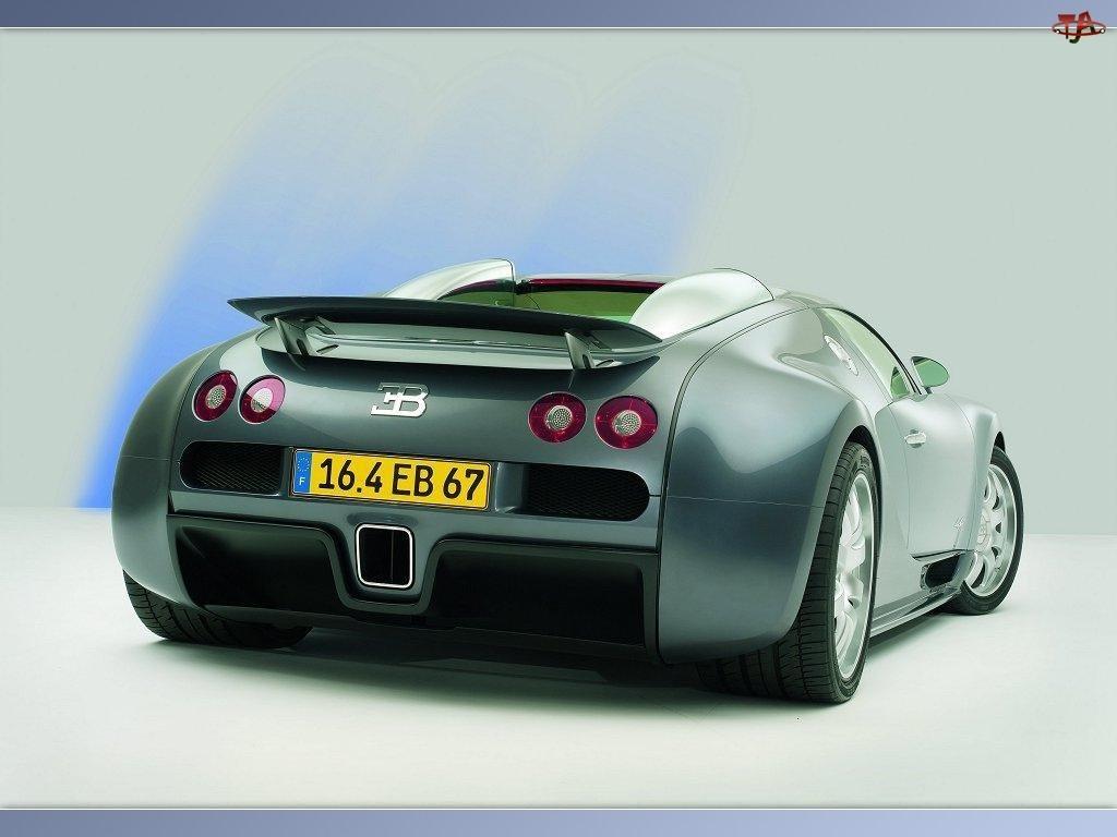 Spoler, Bugatti Veyron, Tylny