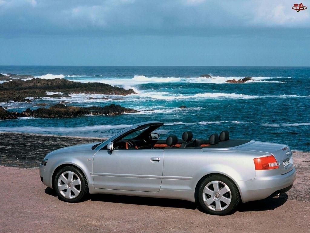 Cabrio, Srebrne, Audi A4